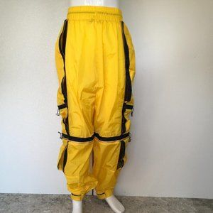 MCM Man Straight Pants Stripes Yellow Color DM3